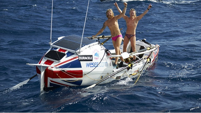 Two Boys in a Boat become youngest rowers to cross the ...