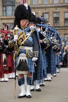 Edinburgh Military Tattoo 2015 perform in Glasgow